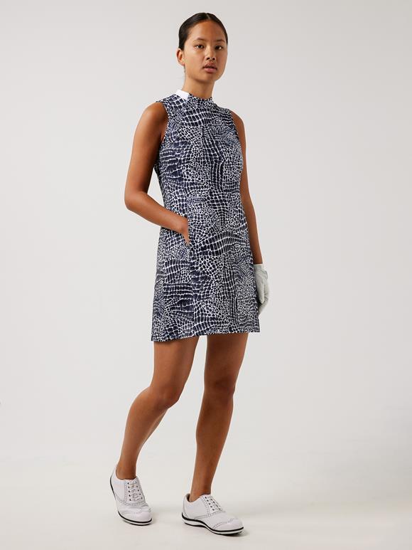 Nena Print Golf Dress