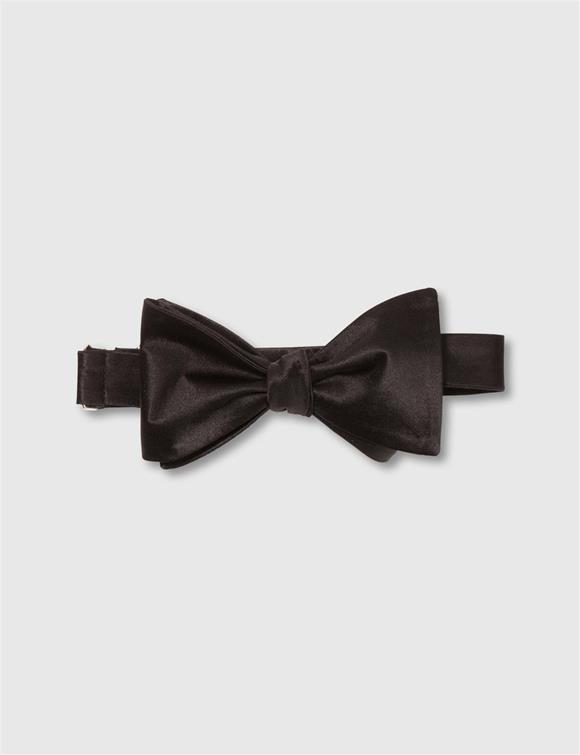 Open Bow-Tie Evening Satin