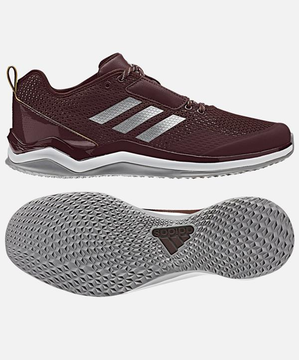 Adidas Maroon Speed Trainer 3 Shoes