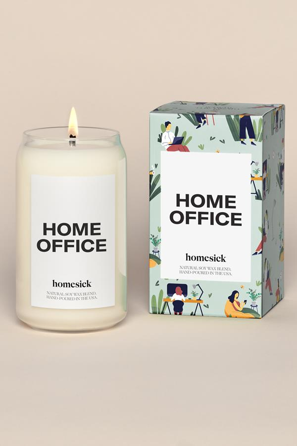 Homesick Candles Home Office Candle 13.75 Oz