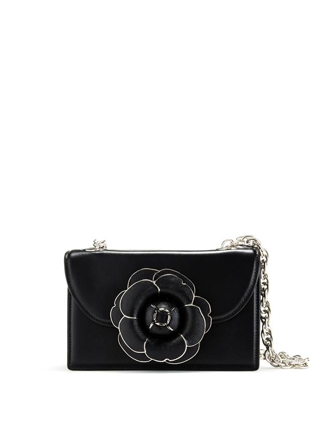 Black Saffiano TRO Bag