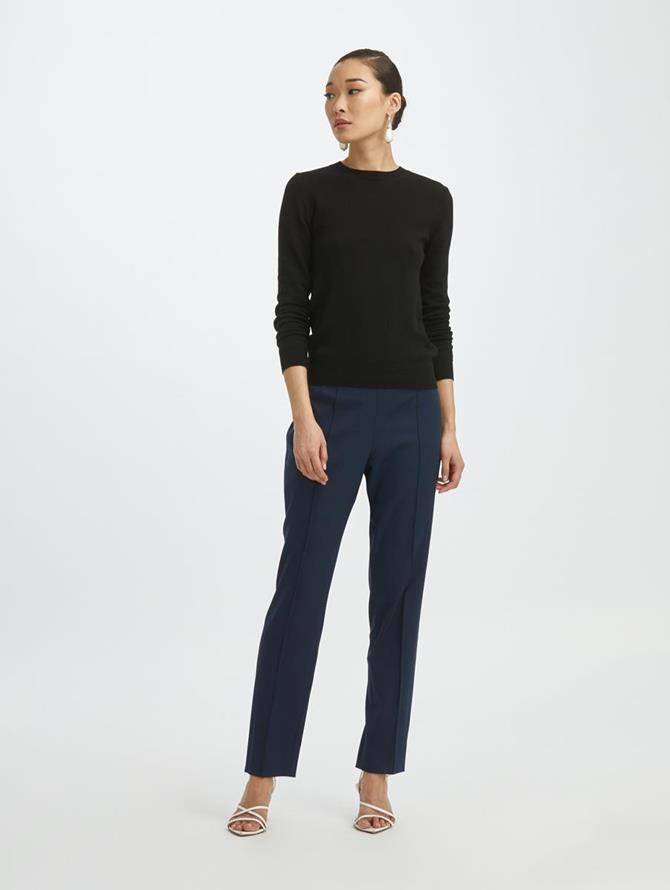 Straight-Leg Pants