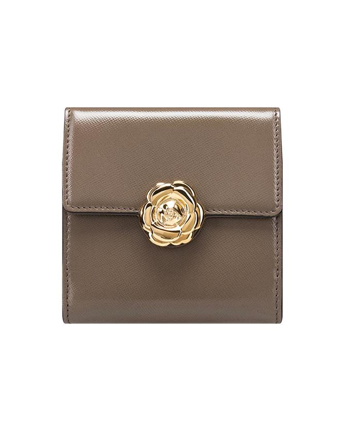 Taupe French Wallet