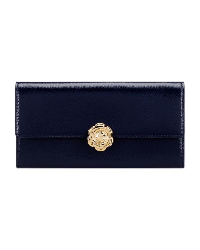 Navy Continental Wallet