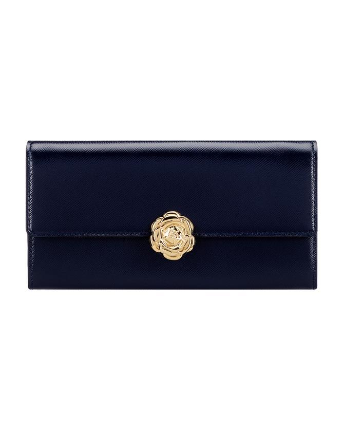 Navy Continental Wallet