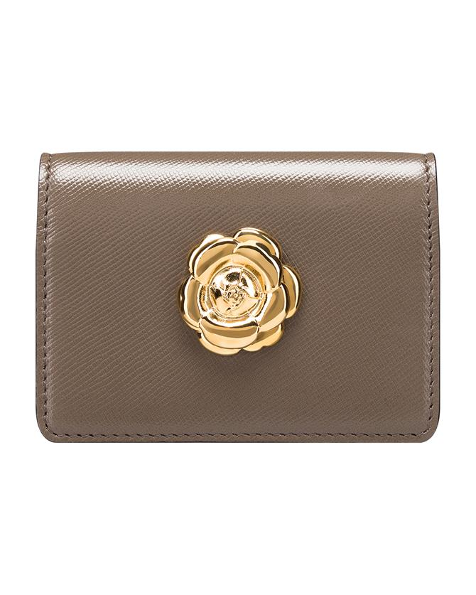 Taupe Card Case