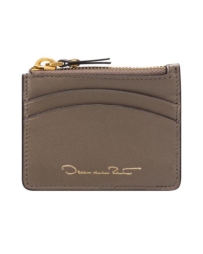 Taupe Mini Zip Case