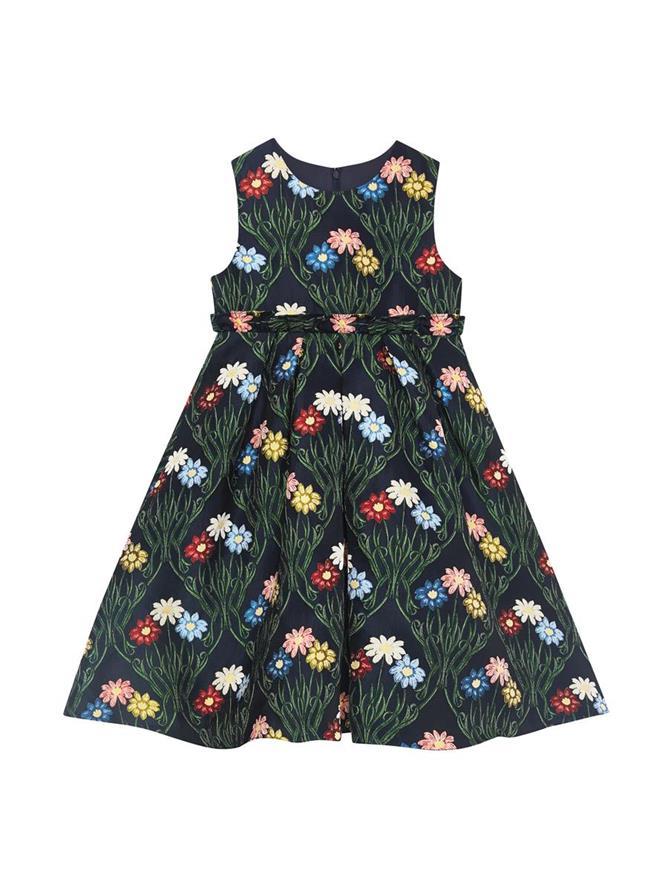 Daisy Jacquard Dress