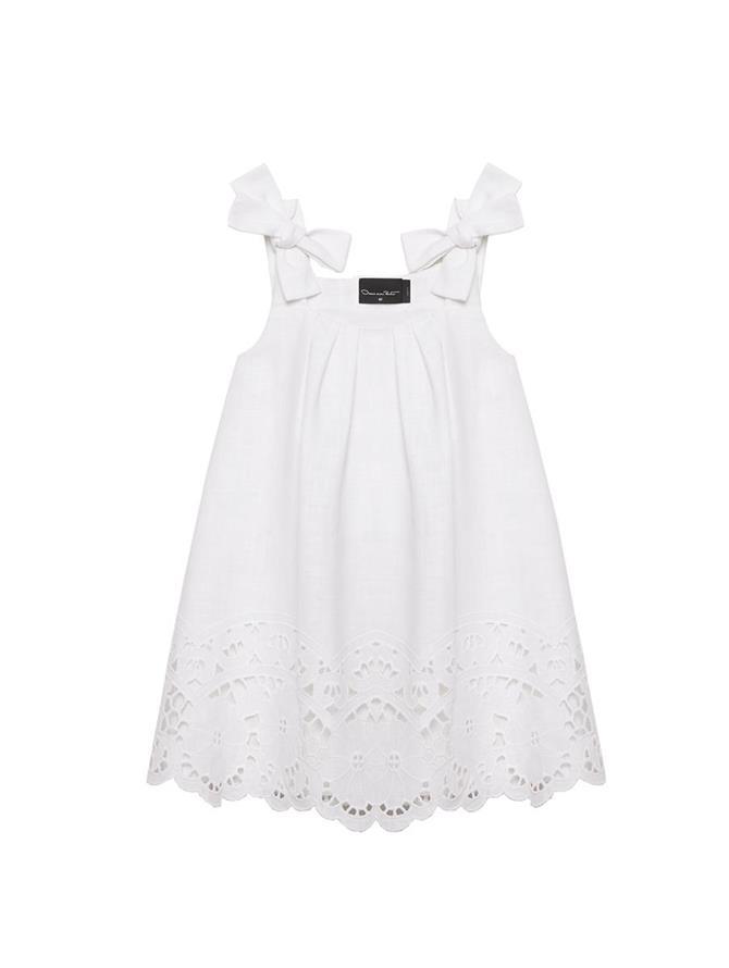 Bow Strap Lace Dress