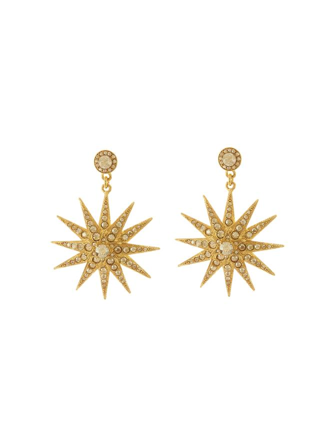 Classic Crystal Star P Earring