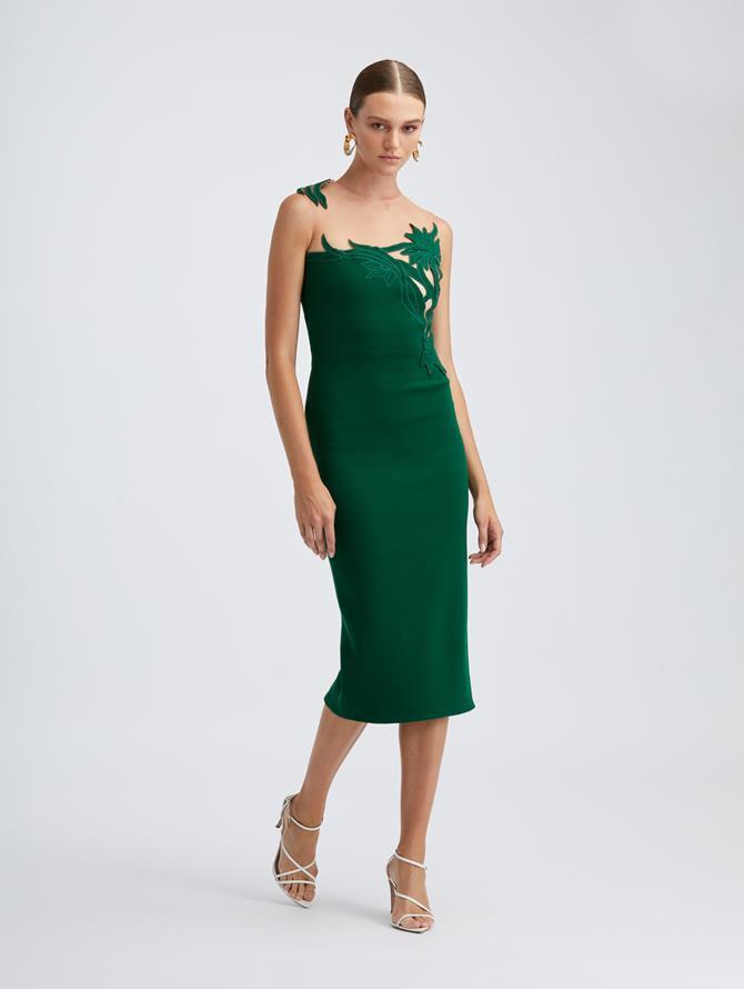Illusion Cutout Dress