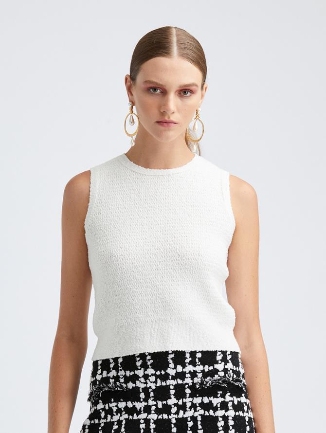 Sleeveless Knit Tank