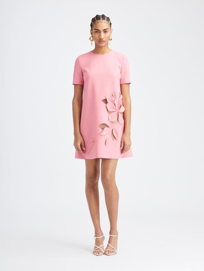 Carnation Cutout Dress