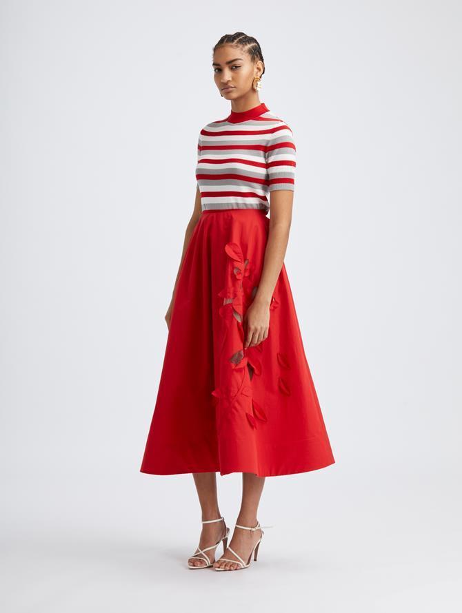 Scarlet Tea Length Skirt
