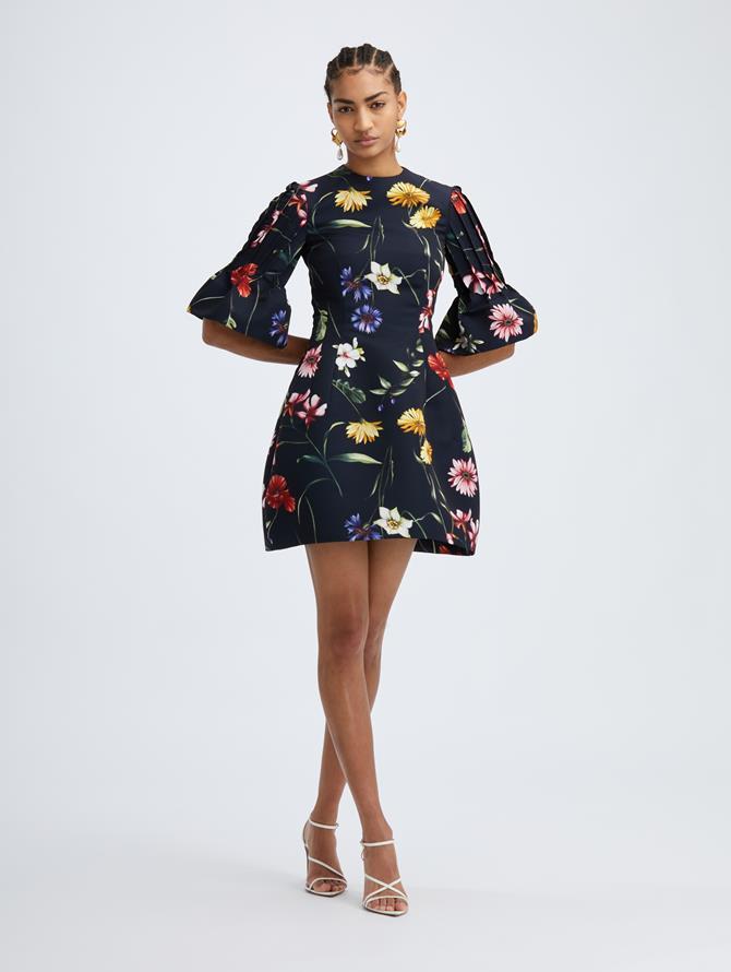 Fiore Flutter Sleeve Dress