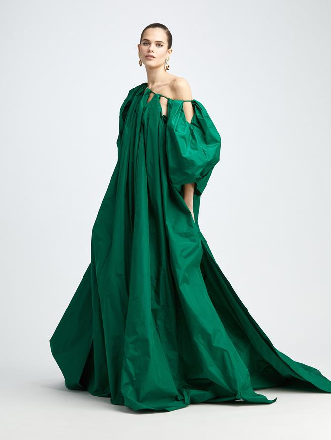 BALLOON SLEEVE CAFTAN