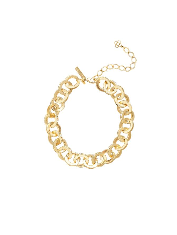 Peapod Linked Necklace