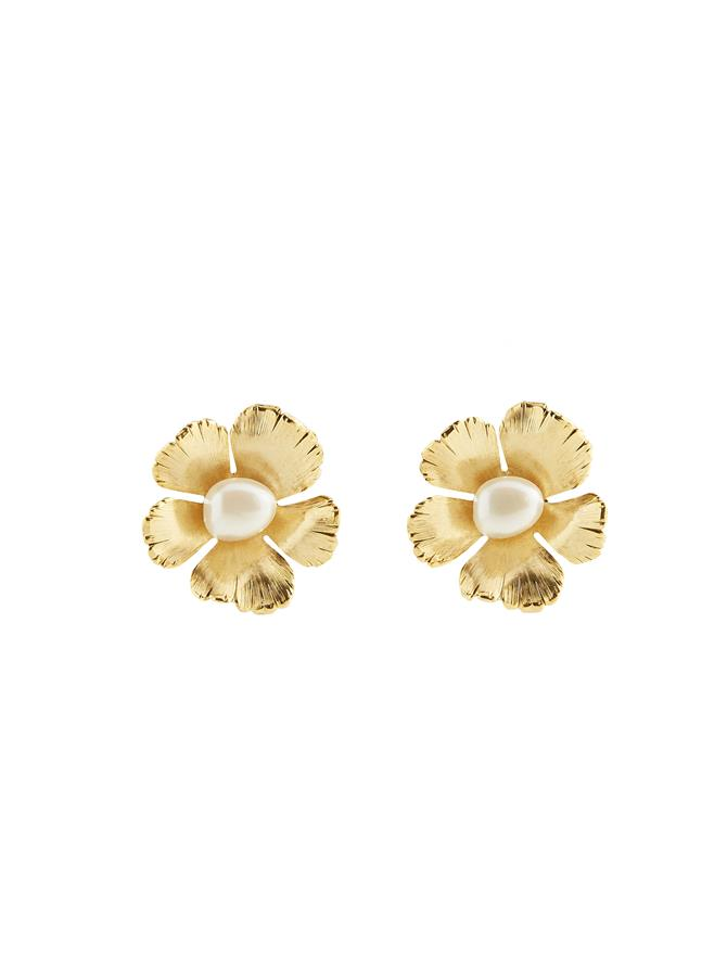 Petite Flower Earrings
