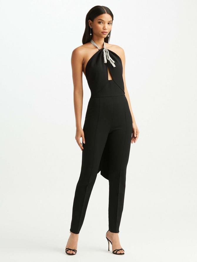 Crystal Bow Jumpsuit