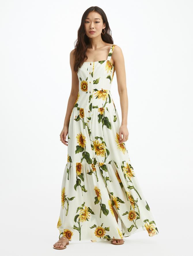 Sunflower Georgette Dress