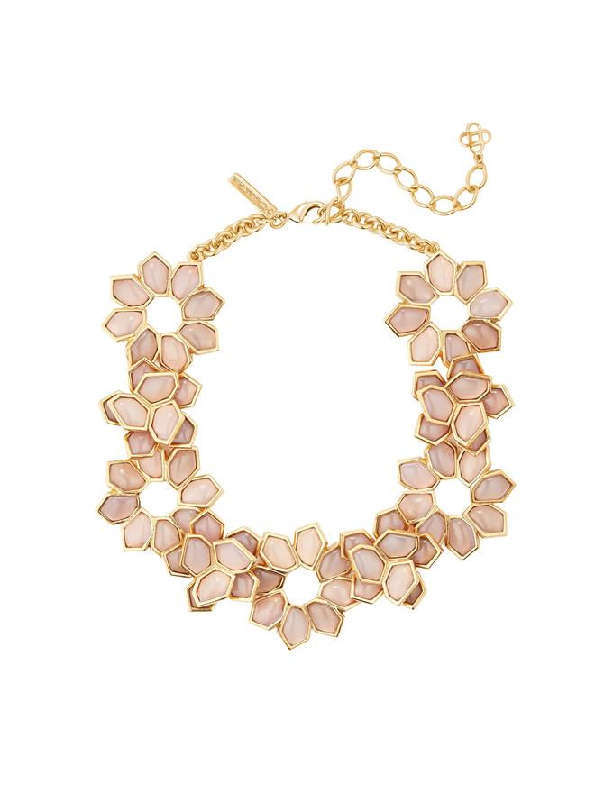 Jagged Flowers Necklace
