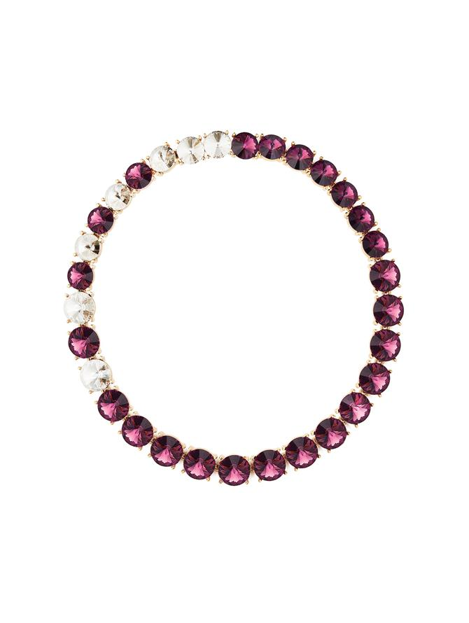 Violet Crystal Necklace