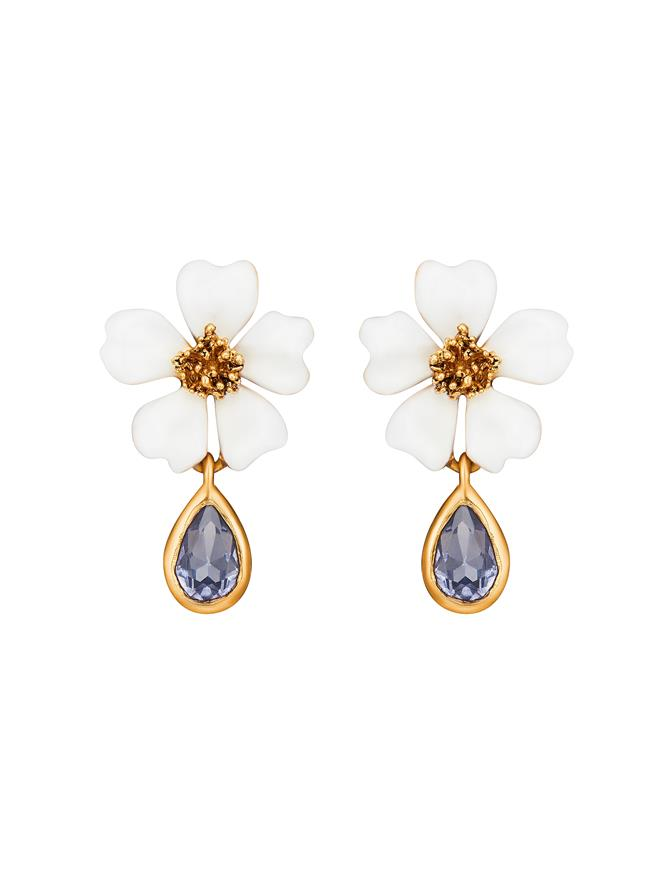 Crystal Cosmos Earrings