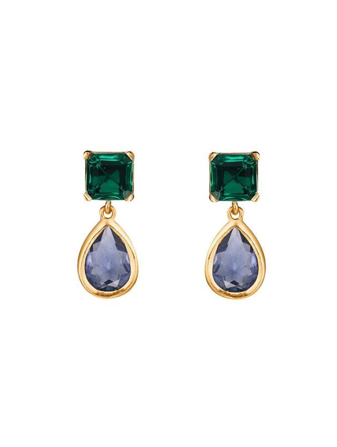 Baroque Drop Earrings