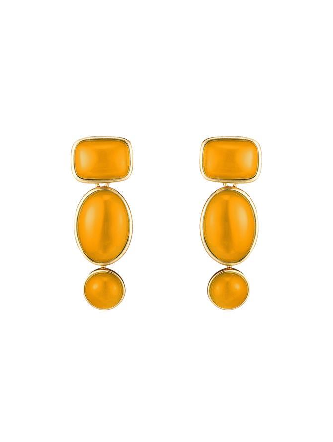 Baroque Geometric Earrings