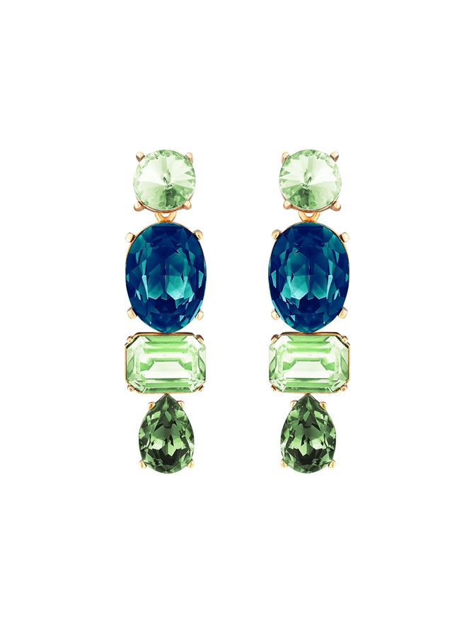 Crystal Baroque Geometric Earrings