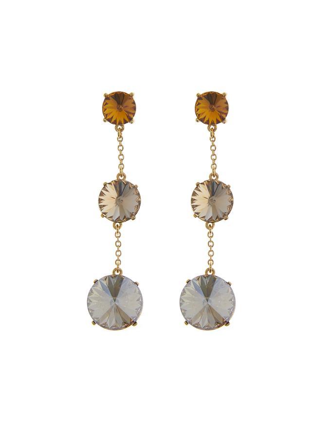 Chain Stone Earrings