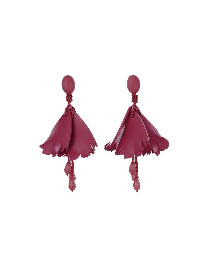 Mini Impatiens Earrings