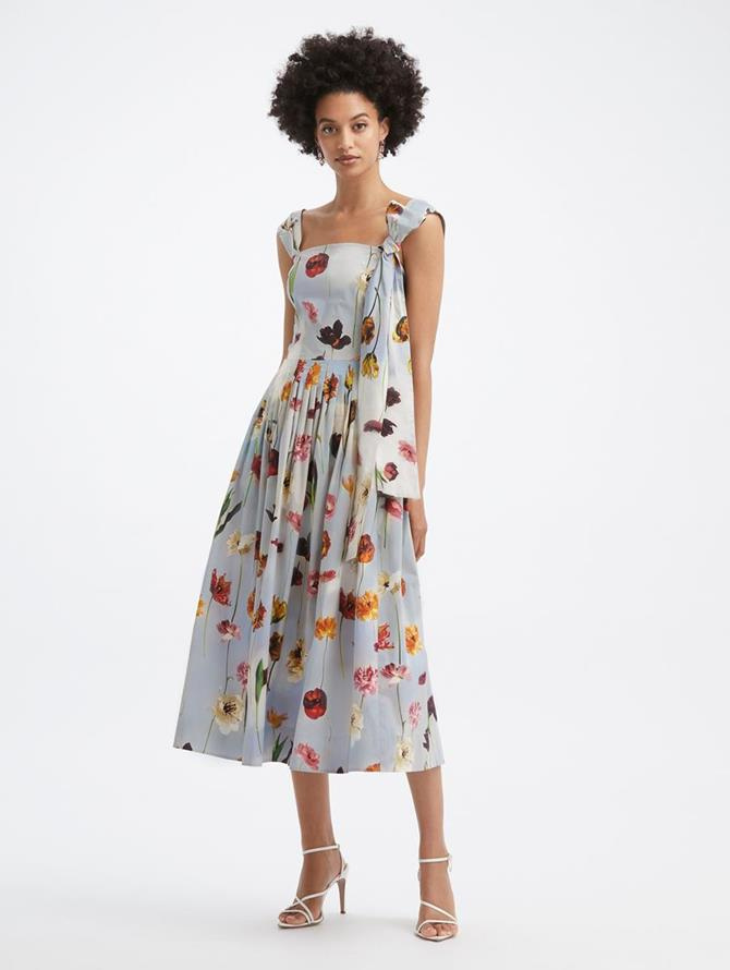 Floral Sky Tank Dress