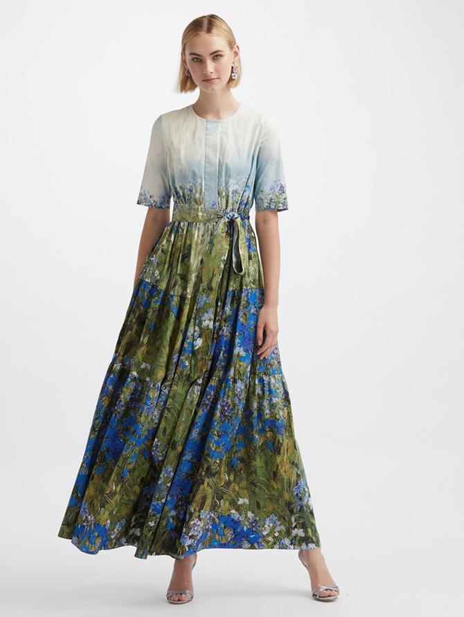 Floral Field Maxi Dress