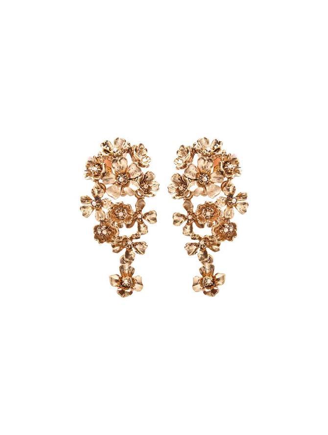 Cluster Flower Earring