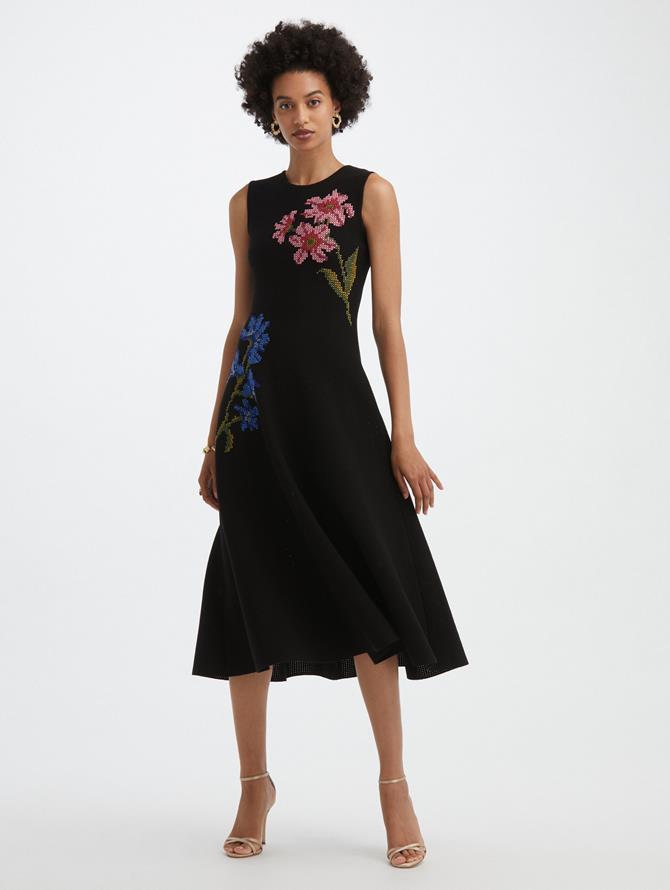 Cross Stitch Pointelle Dress