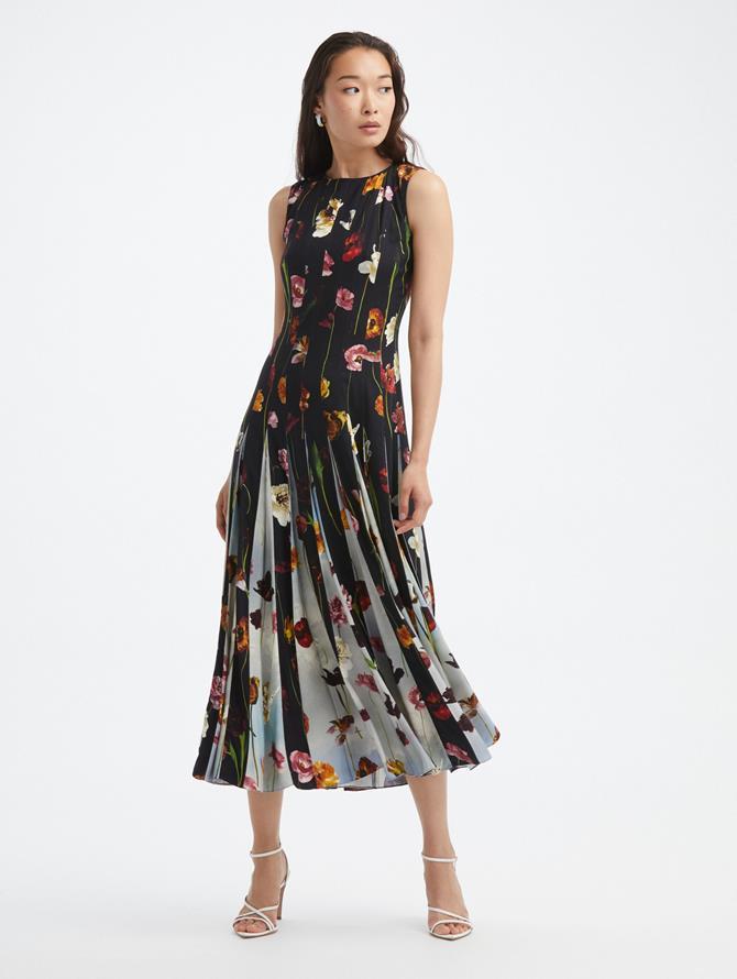Sleeveless Inset Dress